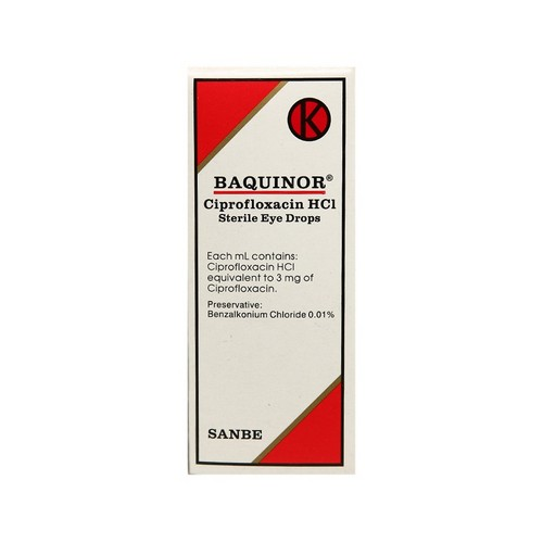 BAQUINOR 5 ML EYE DROP